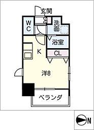 S−RESIDENCE千種[12階]の間取り