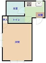 ベルフィオーレ町田[1階]の間取り