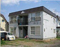 コーポアジワイ[2階]の外観