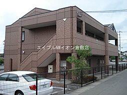 岡山県倉敷市福田町古新田の賃貸マンションの外観