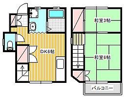 [テラスハウス] 神奈川県藤沢市辻堂4丁目 の賃貸【神奈川県 / 藤沢市】の間取り