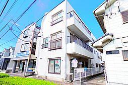 千葉県松戸市新松戸1の賃貸マンションの外観