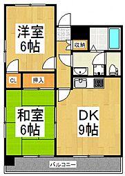 NSビル[3階]の間取り