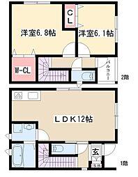 一社駅 12.2万円