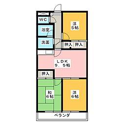 スパジオ665[3階]の間取り