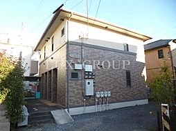 東京都青梅市東青梅3の賃貸アパートの外観