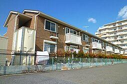 滋賀県草津市草津町の賃貸アパートの外観
