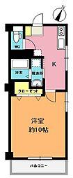 埼玉県上尾市本町3丁目の賃貸マンションの間取り