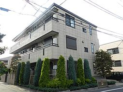 東京都目黒区下目黒5丁目の賃貸マンションの外観