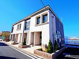 埼玉県新座市野火止7丁目の賃貸アパートの外観