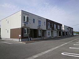 新潟県阿賀野市北本町の賃貸アパートの外観