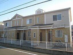 群馬県高崎市中里見町の賃貸アパートの外観