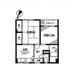 MK新大塚マンション[4階]の間取り