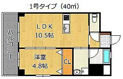 Forest Court[3階]の間取り