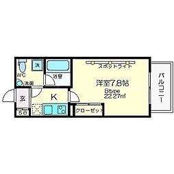 セレニテ新大阪[12階]の間取り