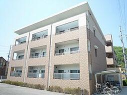 大阪府高槻市上牧北駅前町の賃貸マンションの外観