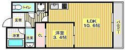 Casa de viola[3階]の間取り