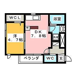 上挙母駅 6.2万円
