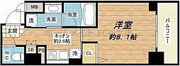 アスヴェル心斎橋東ステーションフロント[11階]の間取り