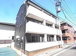 東京都世田谷区松原5丁目の賃貸アパートの外観