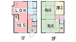 [一戸建] 兵庫県姫路市白浜町宇佐崎中3丁目 の賃貸【兵庫県 / 姫路市】の間取り