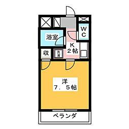 長泉コート[2階]の間取り