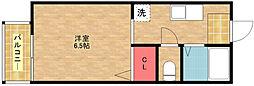 MISAKIパークハイランド[2階]の間取り