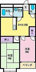 ハイツナバテックパート5[3-B号室]の間取り