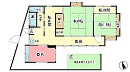 [一戸建] 兵庫県姫路市西中島 の賃貸【/】の間取り