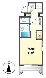 グランベール安田通[6階]の間取り