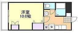 岡山県倉敷市玉島長尾の賃貸マンションの間取り