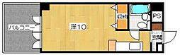 デミ洛北[6階]の間取り