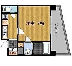 ファミールリブレ梅田東[5階]の間取り