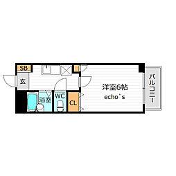 STAGEA[2階]の間取り