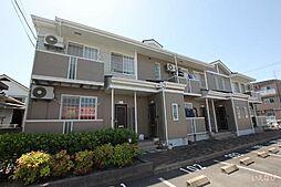 広島県福山市山手町3丁目の賃貸アパートの外観