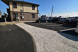 ディアコートの駐車場