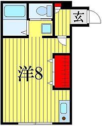 ハイム ソレーユ[1階]の間取り
