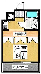 レヂオンス田村[1階]の間取り