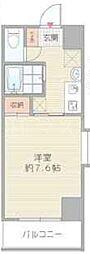 北堀江GGR[2階]の間取り