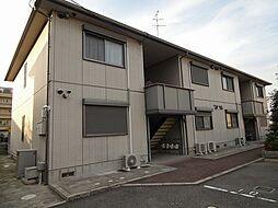 大阪府藤井寺市小山3丁目の賃貸アパートの外観