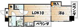 KSK嵐山コアビル[7階]の間取り