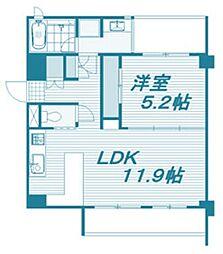 パークホームズ覚王山EAST[1階]の間取り