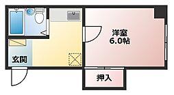 ローズハウス[3階]の間取り