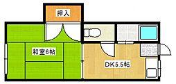 春日原駅 2.2万円