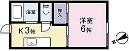 フォーブル町田[0207号室]の間取り