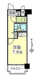 トーカンマンション大分中央[2階]の間取り