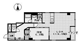 セントヒルズ丸の内[2階]の間取り