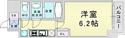 Osaka Metro谷町線 天神橋筋六丁目駅 徒歩7分の賃貸マンション 9階1Kの間取り
