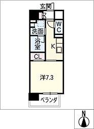 Mio・Aster[3階]の間取り