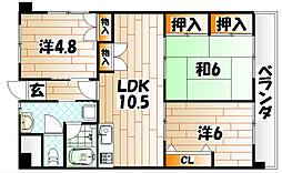 第17共立ビル[7階]の間取り